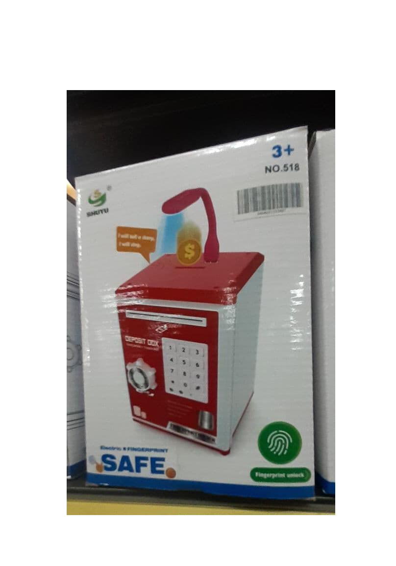 Safe Electric Finger Print