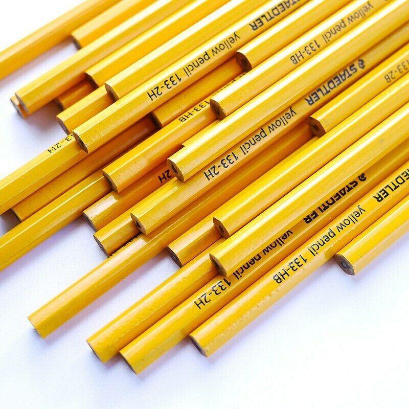 Yellow pencil 2 pc