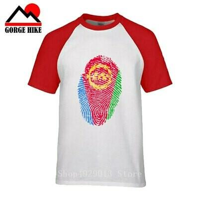 Rasta Clothing Ethiopian Jerseys Tees Mens t-Shirt Nation Sporting Cotton Tops Country