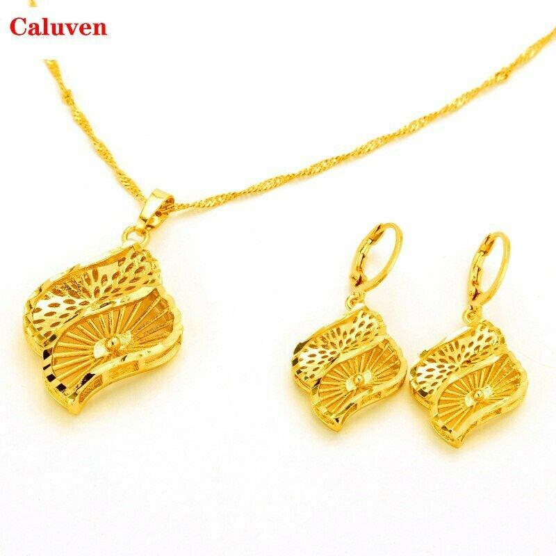 Jewelry-Sets Habesha Ethiopian Dubai Gold-Color Women African Eritrea Wedding-Gifts