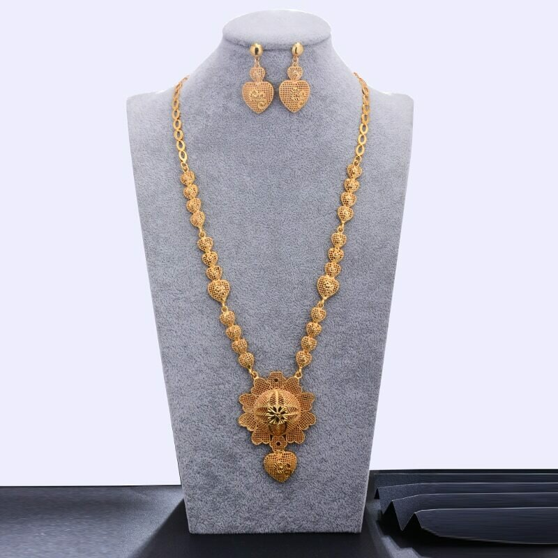 Habesha Jewelry-Sets Wedding WANDO Ethiopian/oman Gold-Color Women