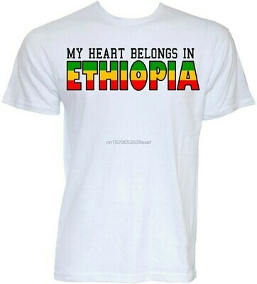 T-Shirt Oversized Joke Gifts Mens Funny No Tee Ethiopian Slogan Cool Novelty