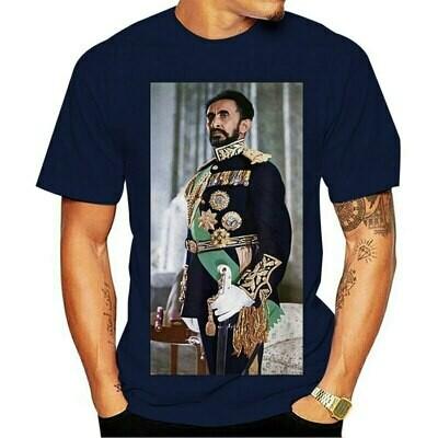 Tshirt High-Quality Tee Haile Emperor Ethiopian Selassie