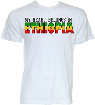 T-Shirt Oversized Ethiopian Joke Gifts Mens Funny No Tee Slogan Cool Novelty