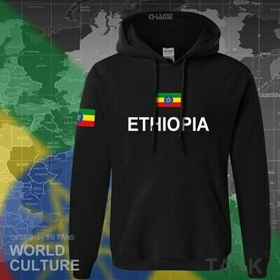 Hoodies Men Sweatshirt Tracksuit Streetwear-Clothing Ethiopian Tops Nation Country Hip-Hop