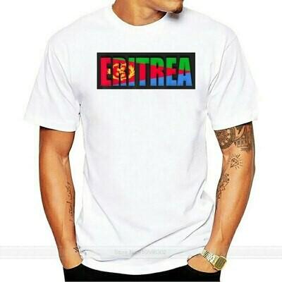 T-Shirt Cotton Eritrea Summer Fashion Flag Euro-Size in
