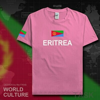 T-Shirt Fashion Eritrea Tees Jerseys Clothing Nation-Team Sporting Cotton Gyms Country