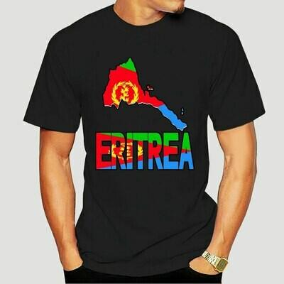 Funny men t shirt novelty tshirt women Eritrea map Eritrean flag Africa T-shirt 7247X