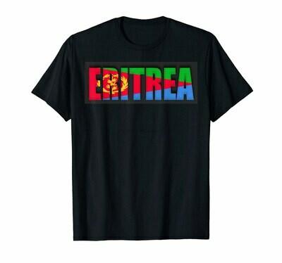 Eritrea In Eritrea Flag Eritrean T-Shirt 8207P