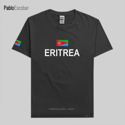 T-Shirt Fashion Eritrea Jerseys Tees Clothing Nation-Team Sporting Cotton Country Gyms