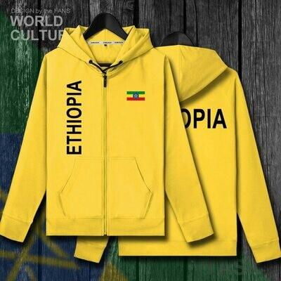Hoodies Winter Ethiopian-Horn Africa Sweatshirt Tracksuit Men Jackets And Mens Fleeces