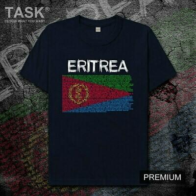 Mens T-Shirt Sports-Clothes Eritrea Short-Sleeve Er-National-Team-Printing Summer Cotton