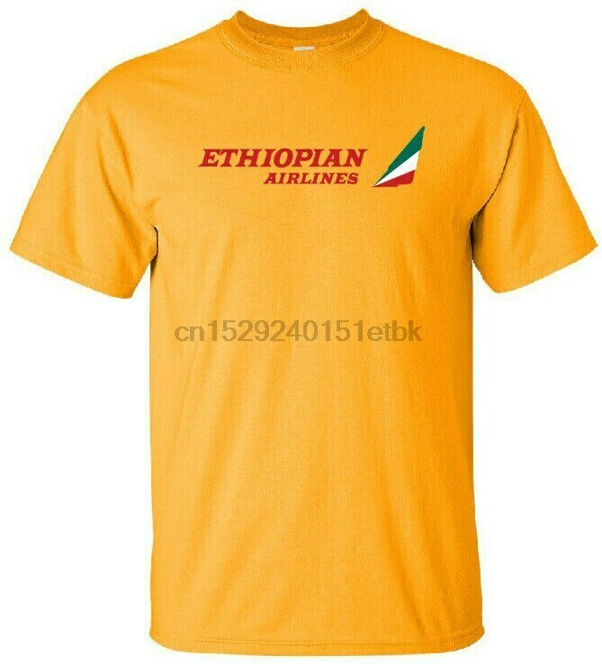 Ethiopian Airlines Retro Logo East African Airline T-Shirt