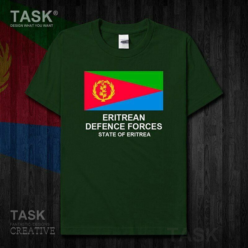 T-Shirt Military Eritrea Short-Sleeve 01 Tops Tactical-Country Army Fashion New