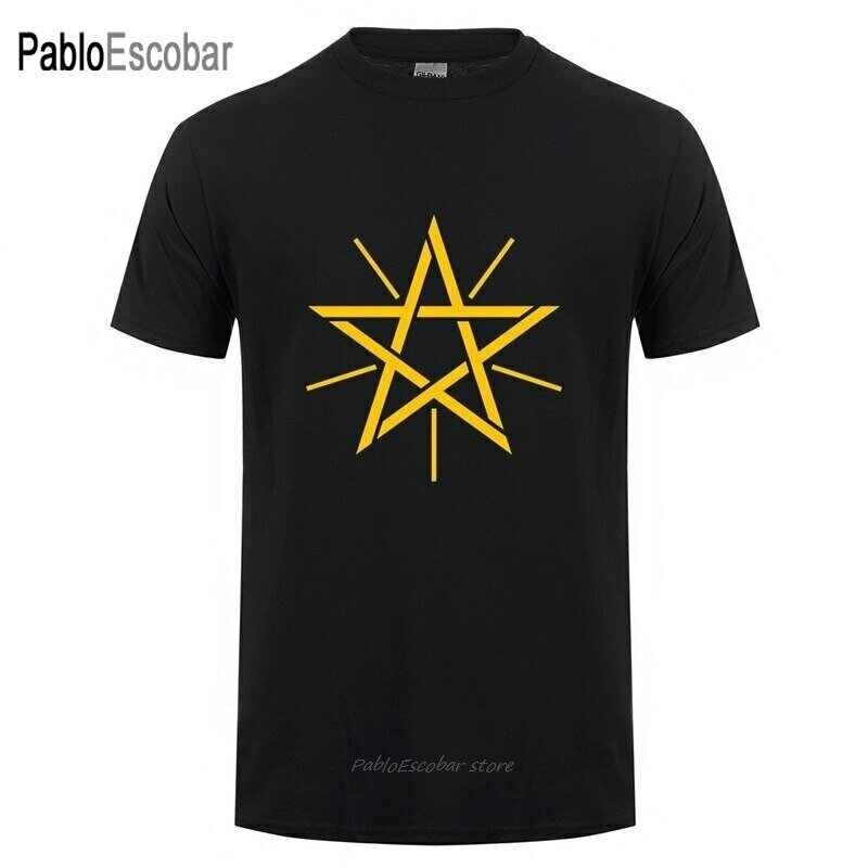 T-Shirt Men Ethiopian Short-Sleeve Cotton Summer Fashion Camisetas Logo