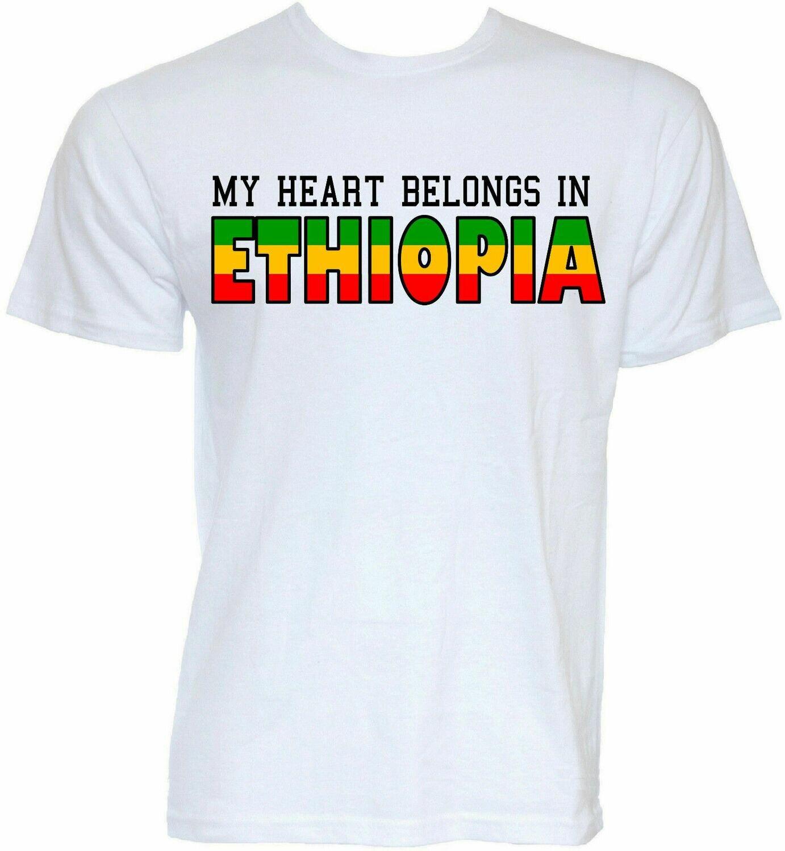T-SHIRTS ETHIOPIAN Stranger Things Joke Gifts Mens Funny Newest NO SLOGAN NOVELTY
