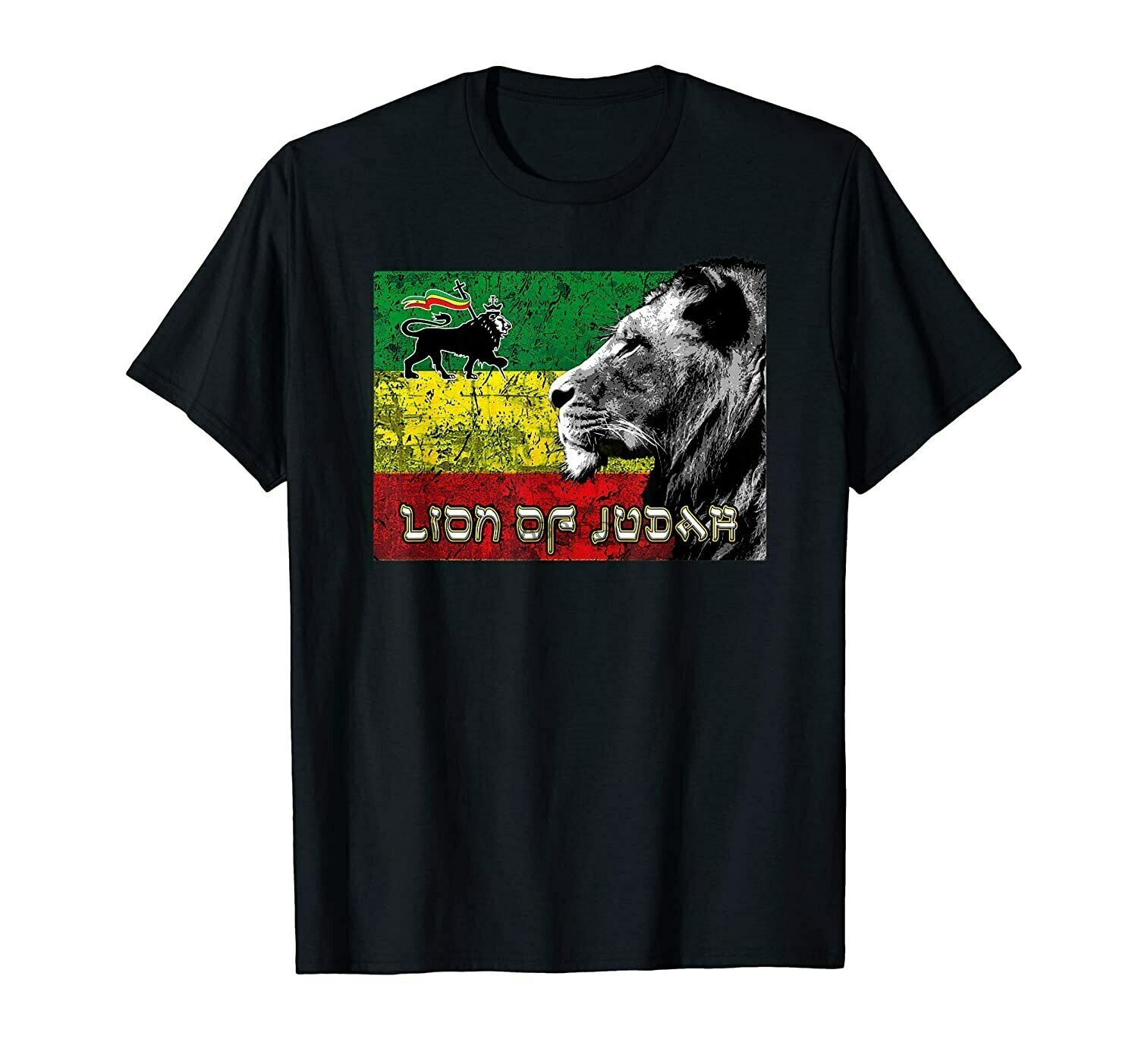 Lion Of Judah Ethiopian Hebrew Israelite Tribe Rasta Shirt T-Shirt