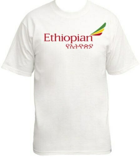 ETHIOPIAN Airlines Airplane Travel T-shirt