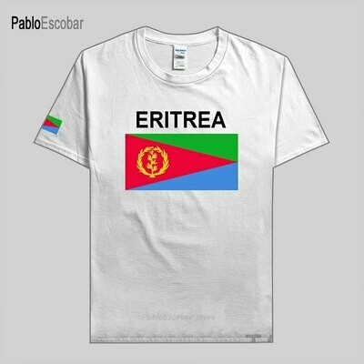Men Jersey T-Shirt Eritrea Tees Nation-Team Sporting Cotton Flag Country Gyms