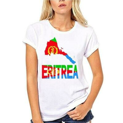 Men Tops T-Shirt Eritrean-Flag Printed Africa Tee Top-Tee Map Serve-Up S-5xl Plus-Size