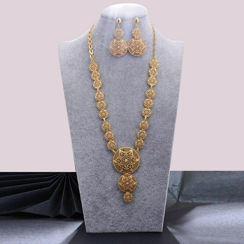 Habesha Jewelry-Sets Wedding Ethiopian/oman Gold-Color WANDO Women