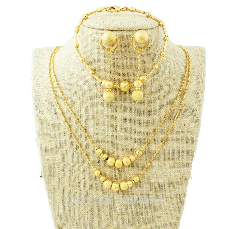 Jewelry-Set Ethiopian African/eritrea Earring/necklace Women