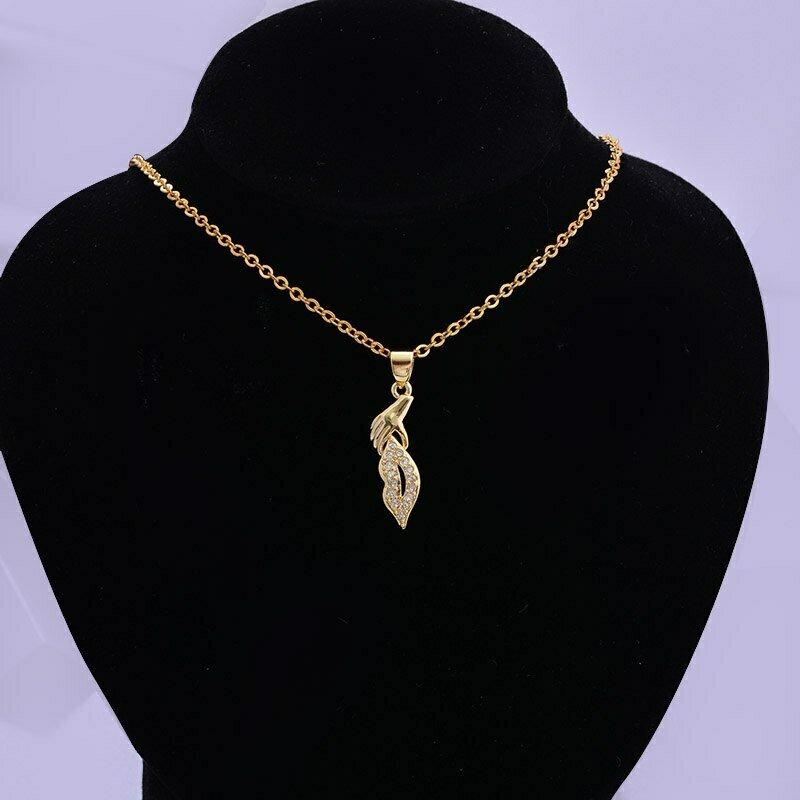 Jewelry Necklace Ethiopian Gold Pandent Bridal Women 24K Dubai Wedding-Gift Party Mouth-Type