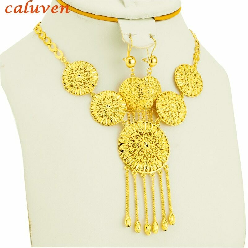 Jewelry-Sets Habesha Wedding-Gold-Color Arabic/oman Eritrea/wedding-Gifts Women