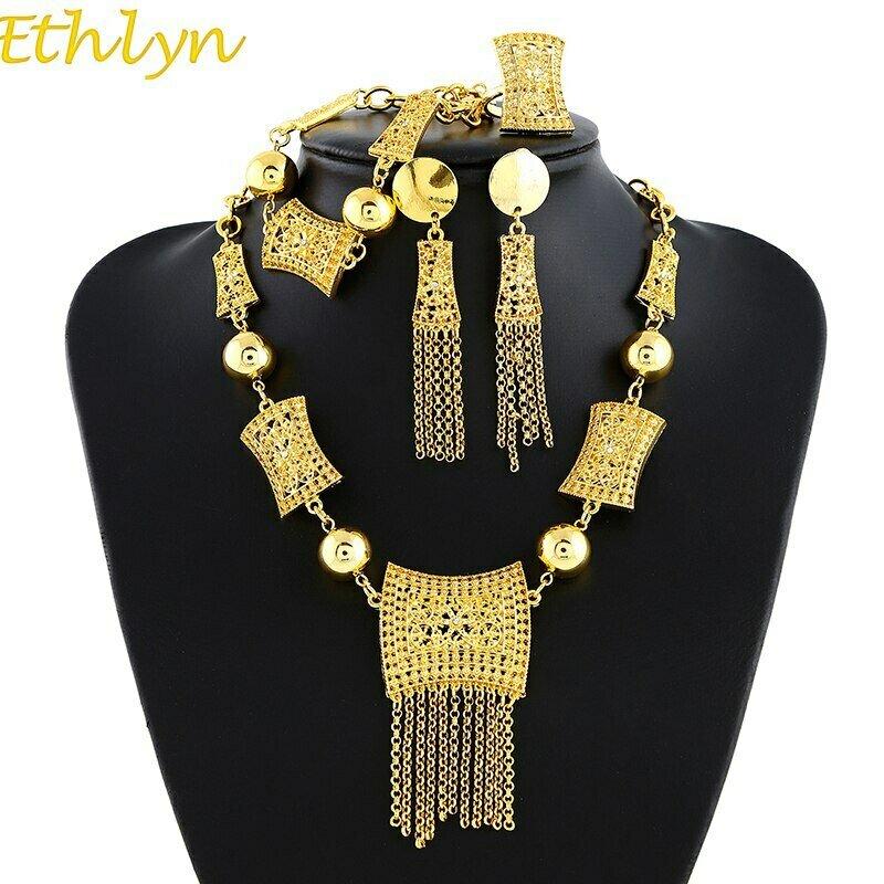 Jewelry Dubai Habesha Ethlyn Wedding-Gifts Eritrea/arabic Women Charm S166