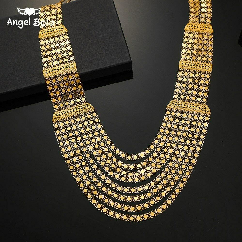 Ethiopian Necklace Jewelry Arab Allah Turkish Islamic African Women Persia Wedding-Gifts