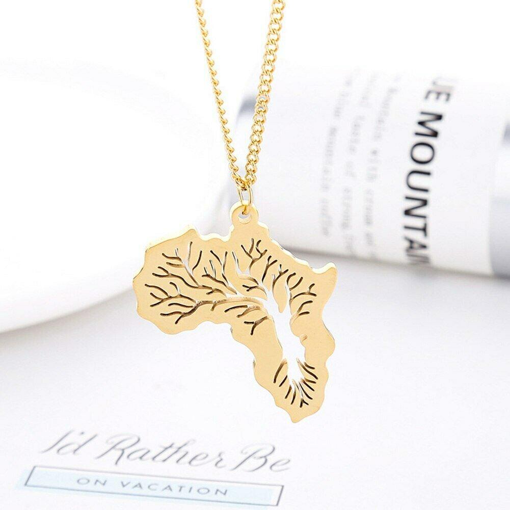 Ethiopian Jewelry Africa Necklace Link-Chain Pendant Gift Women/men Tree-Of-Life
