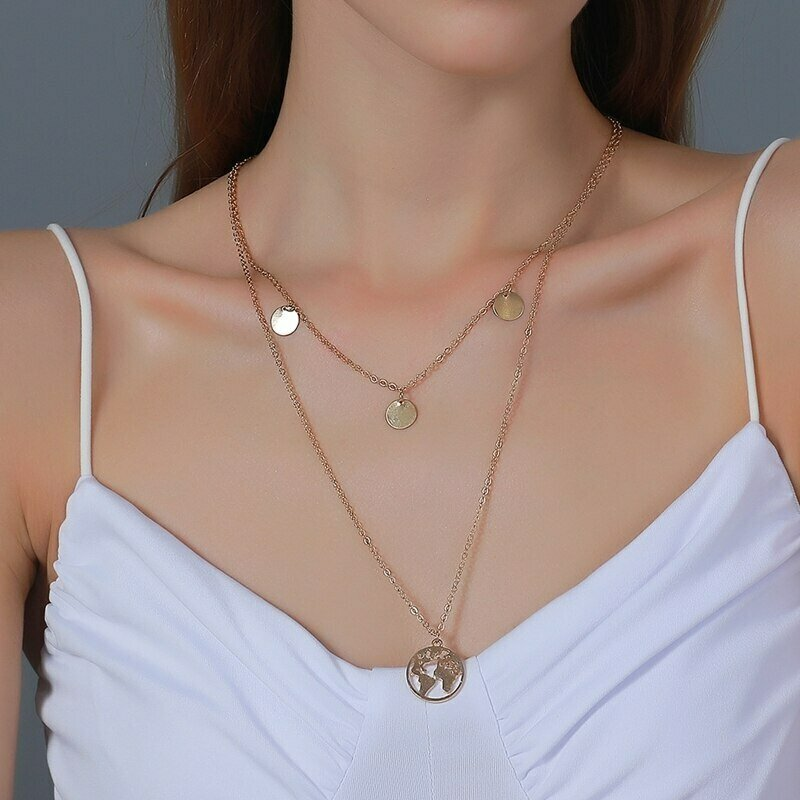 Pendant Necklace Africa-Map Ethiopian-Jewelry Wholesale Women Hiphop-Item Silver-Color/gold-Color