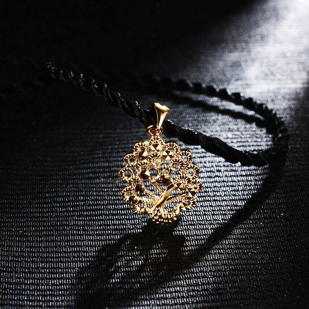 Pendant Necklace Phoenix WANDO Jewelry Ethiopian India Wedding African Fashion Women