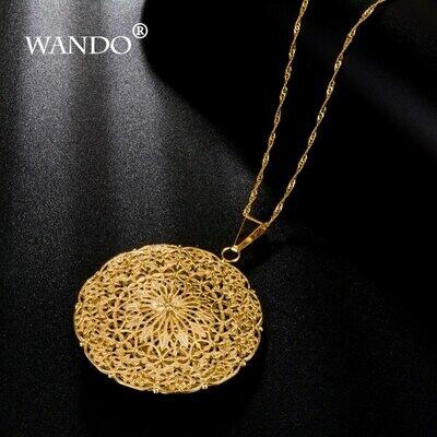 Necklace Pendants Ethiopian Sudan WANDO Nigeria Women for Choker Eritrea Kenya Best-Gift