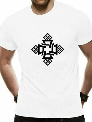 MENS T-Shirt CATHOLIC ETHIOPIAN RELIGION Tees Cotton for Man Cross-Symbol ORTHODOX CHURCH