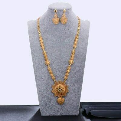 Habesha Jewelry-Sets Wedding WANDO Ethiopian/oman Gold-Color Women