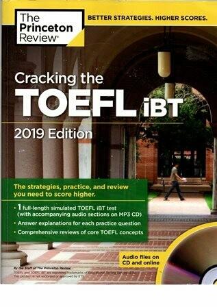 Cracking the TOEFL iBT 2019 Edition [by] በ TOEFL