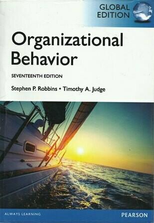 Organizational Behavior [by] በ Stephen P. Robbins