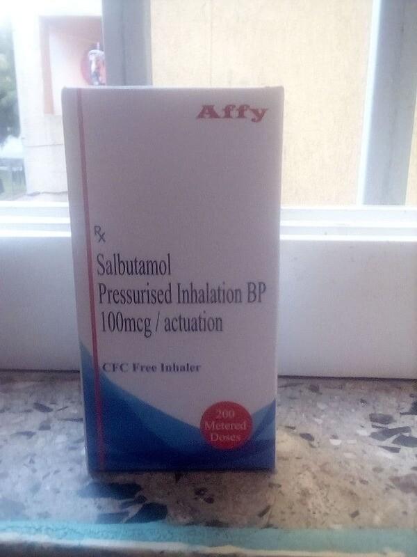 Salbutamol Pressurised Inhalation