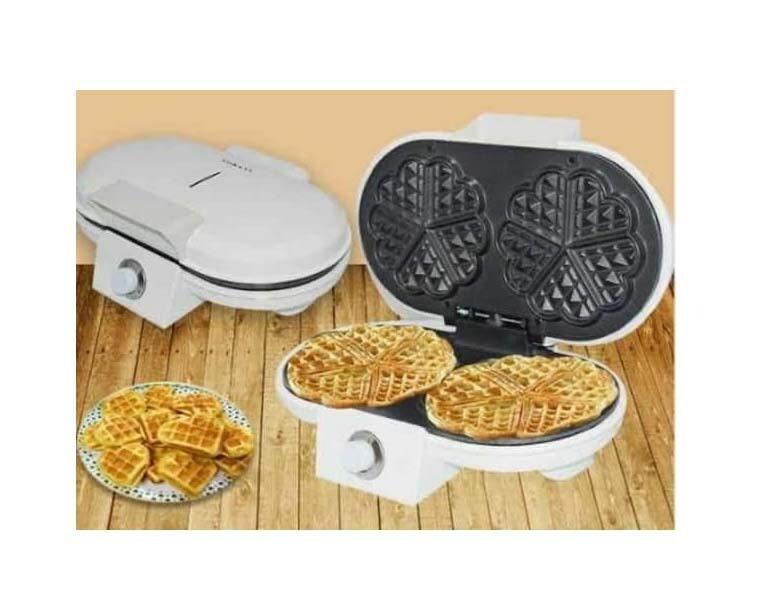 የኬክ መስሪያ Silver Crest double waffle maker