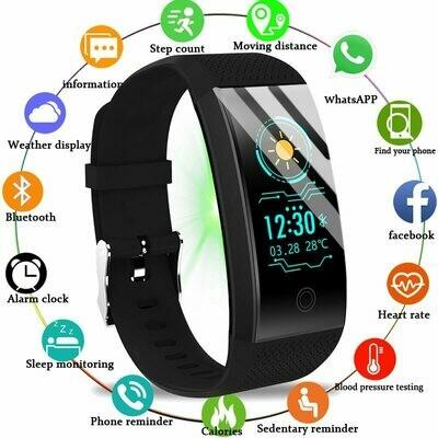 Smar Watch Monitor-Tracker Blood-Pressure-Heart-Rate BANGWEI Swimming Electronic Sleep