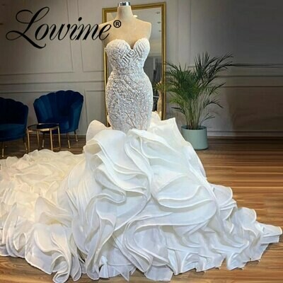 Ball-Gown Corset Wedding-Dresses Lceland Poppy-Off-The-Shoulder Beaded Satin Lace Appliques