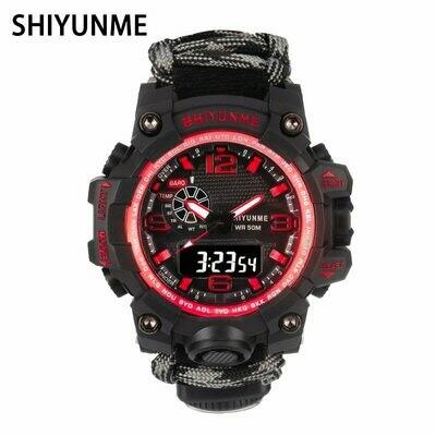 Quartz Watches Digital-Clock Military Waterproof Relogio Men Sports Luxury Brand LED