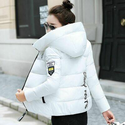 Short Jacket Outerwear Padded Parka Basic-Coat Hooded Female Warm Thick Plus-Size Cotton