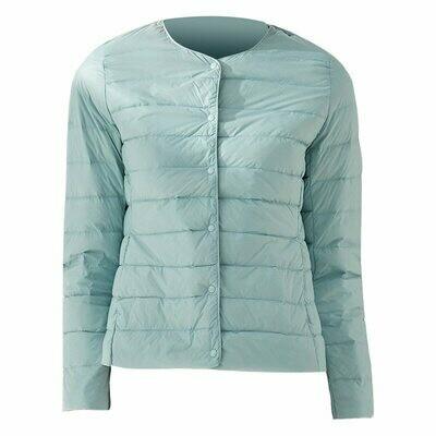 Coat Parka Windbreaker Down-Jackets Newbang Matt-Fabric Duck-Down Lightweight Ultra-Light