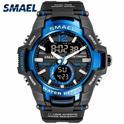 Men Watches Clock Digital SMAEL Military Waterproof Men's Relogio Sport 1805 50M Masculino