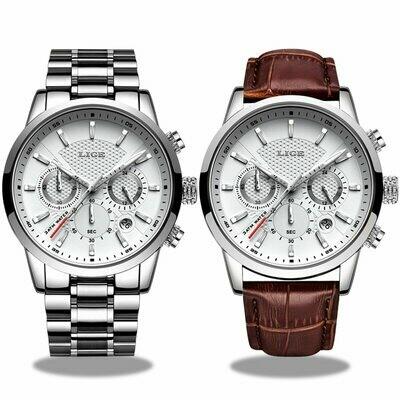 Waterproof Clock Quartz-Watch Luxury LIGE Top-Brand Men Sport Relogio Masculino Multifunction