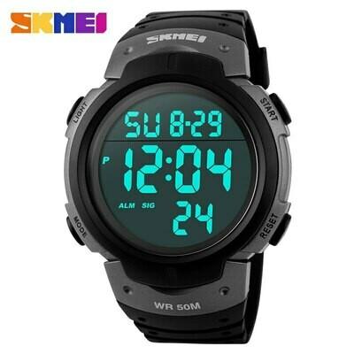 Man Watches Digital Skmei 1068 Outdoor Waterproof Reloj 5bar Men Fashion Luxury Dial