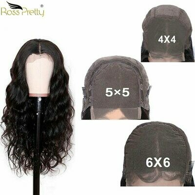 Long 30inch Remy human hair wigs Lace Closure 4x4 5x5 6x6 remy hair swiss lace Front Body Wave Peruvian Hair Wig