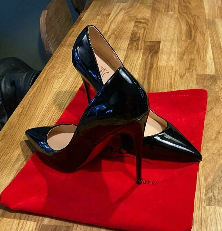 Woman Shoes Red Heels Pointed-Toe Sexy Designers Big-Size Ladies Super-High 8cm-Up